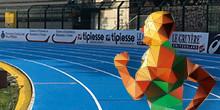 Installazione piste per l'atletica di tipo colato in opera