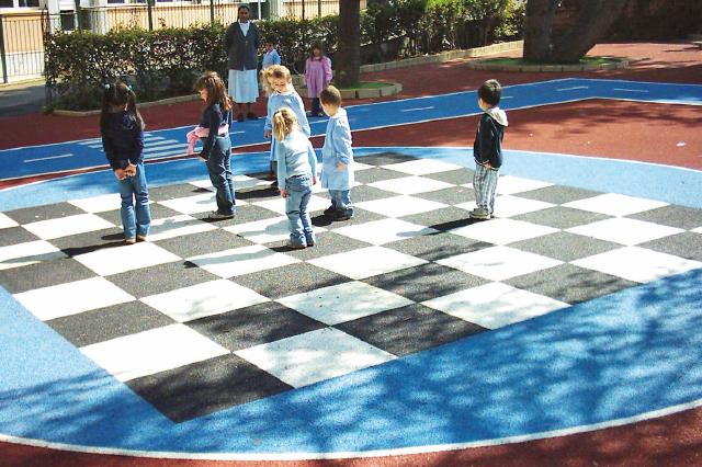 antitrauma per aree gioco