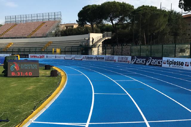 Pavimentazioni sportive per l'atletica